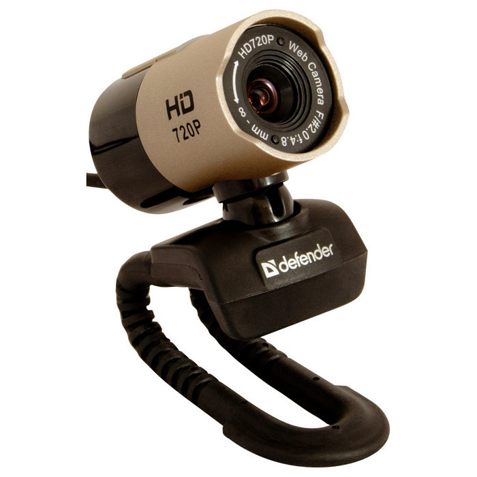 Web-камера Defender G-lens 2577 золотист.