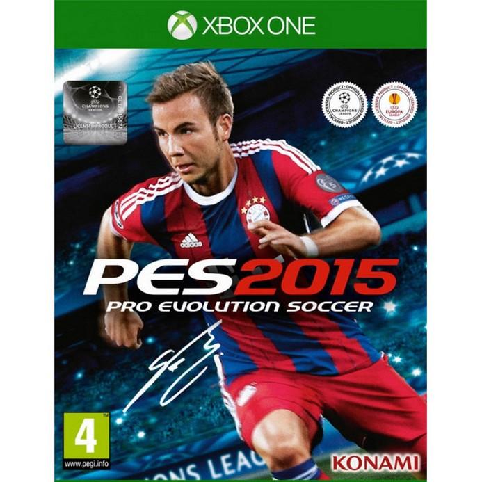 Игра для Xbox One Konami Pro Evolution Soccer 2015 (русские субтитры)