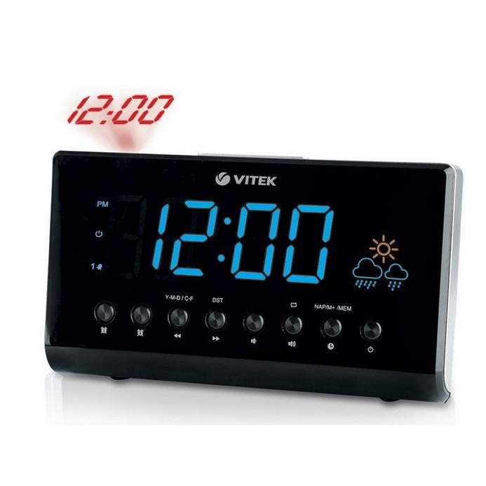 Радиочасы Vitek VT-3526 Black