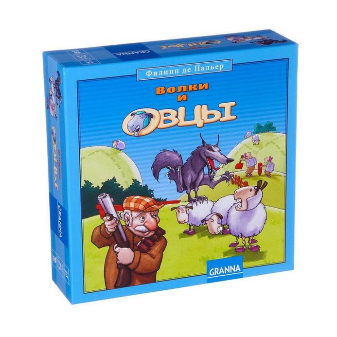 Настольная игра GRANNA Волки и овцы (новое издание)