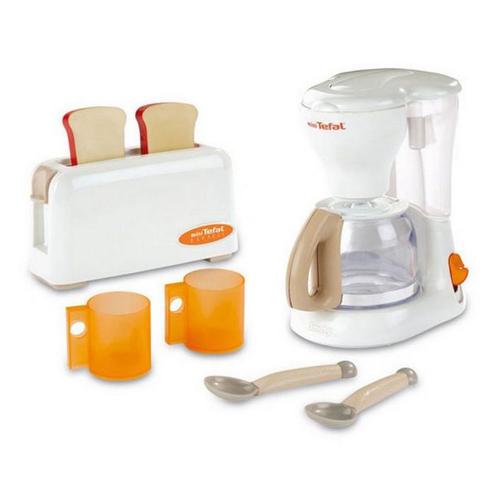 Игровой набор Smoby Тостер и кофеварка Tefal