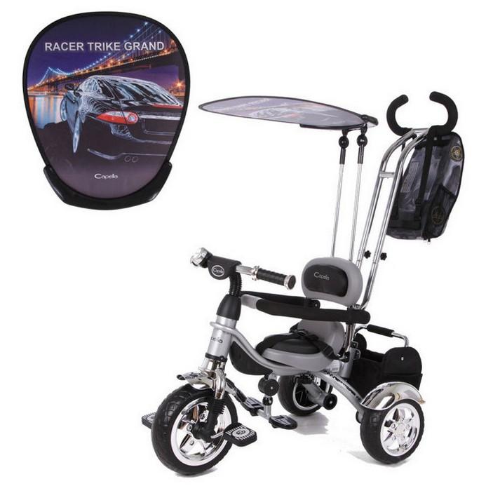 Велосипед Capella Racer Trike Grand silver/c