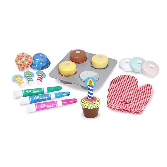 Игровой набор Melissa&Doug Готовим и украшаем кексы