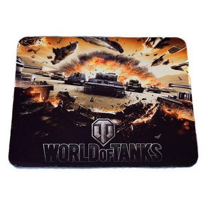 Коврик для мыши SteelSeries SS QcK LE World of Tanks Black (67272)