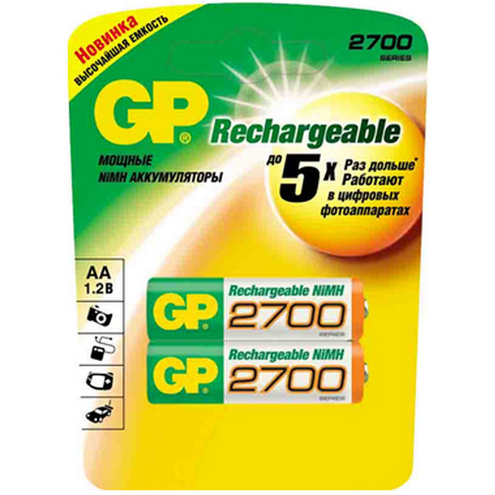 Аккумулятор GP 270AAHC-UC2PET-G