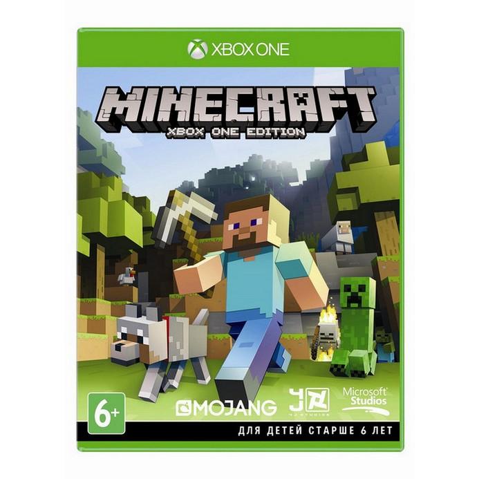 Игра для Xbox One Microsoft Minecraft (русские субтитры)
