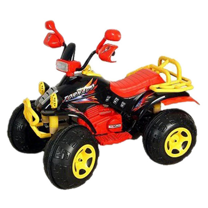 Квадроцикл TCV TCV-636 (черный+желтый)