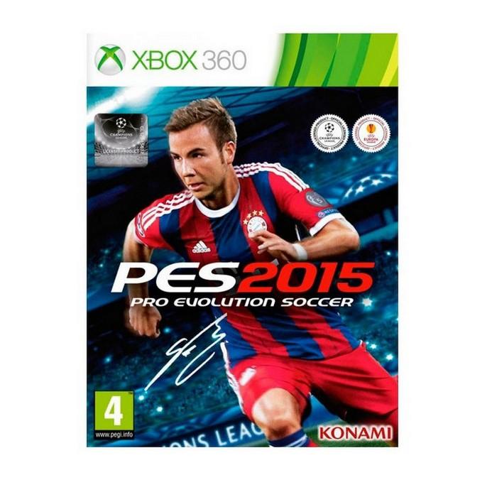 Игра для Xbox 360 Konami Pro Evolution Soccer 2015 (русские субтитры)