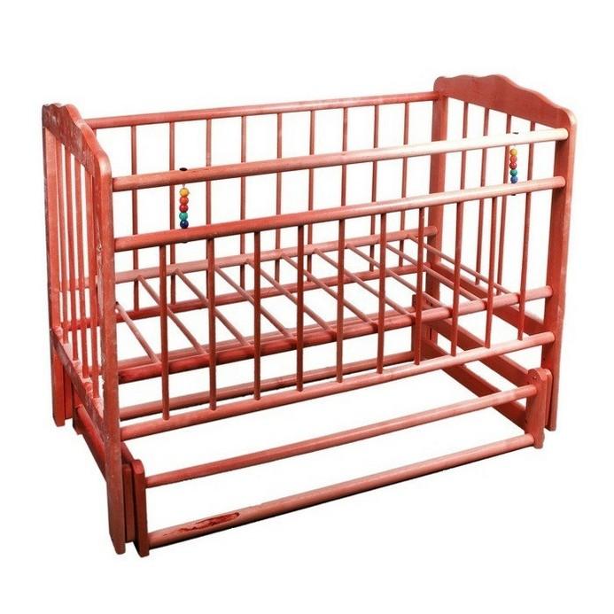 Кроватка Женечка 5 (вишня)