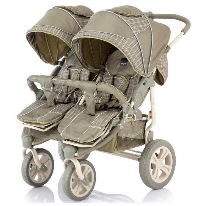 Коляска Baby Care Cruze DUO Oliva Cherker