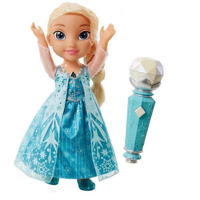 Кукла Disney Princess Эльза поющая с микрофоном (310780)