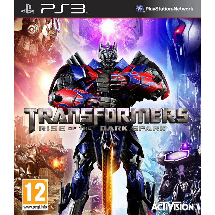Игра для PS3 Activision Transformers: Rise of the Dark Spark (русская документация)