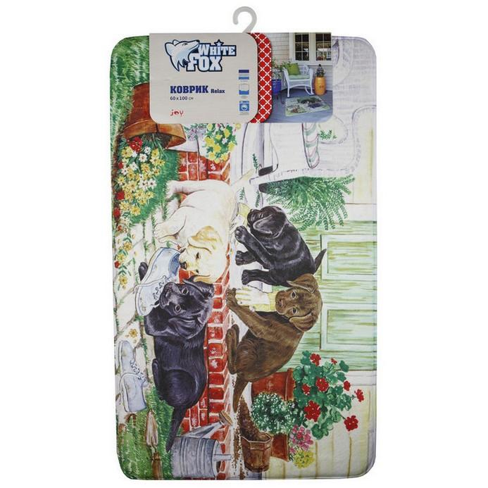 Придверный коврик White Fox Joy Relax 60x100 см
