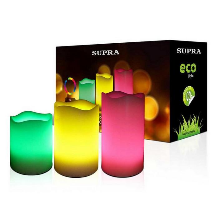 Cветильник Supra LCN-02RGB set