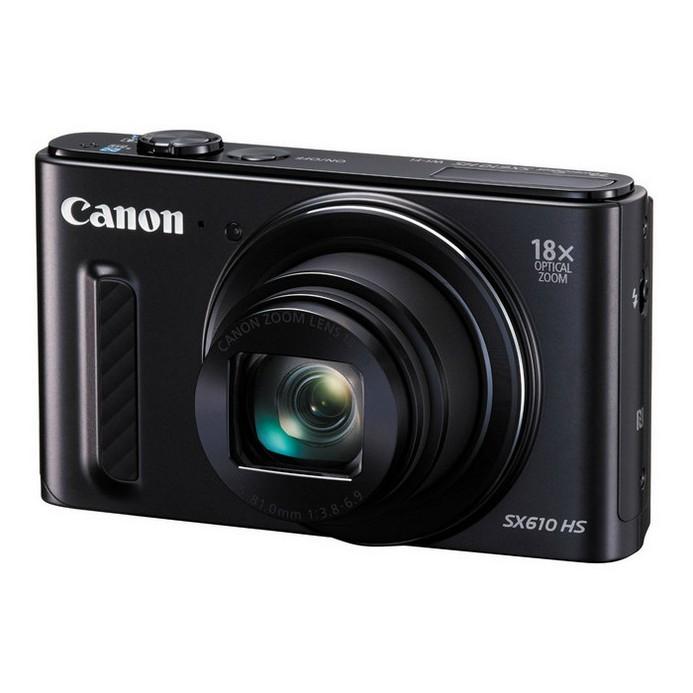 Компактный фотоаппарат Canon PowerShot SX610HS(BKE)