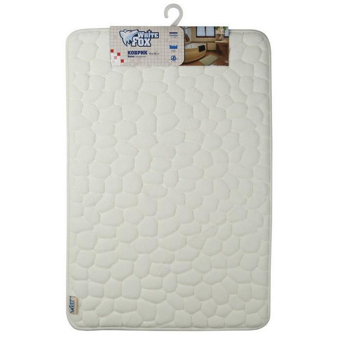 Коврик для ванной White Fox RELAX 50х70см