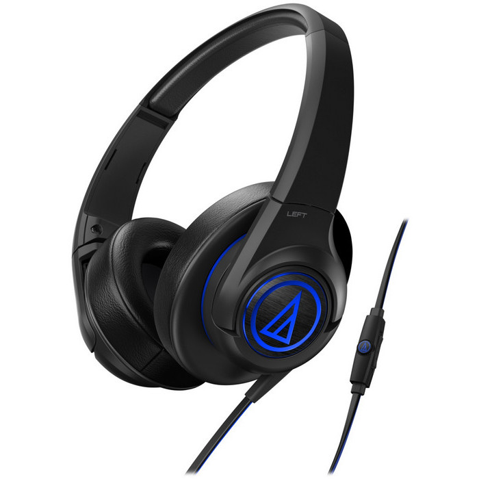 Гарнитура Audio-Technica ATH-AX5iS BK