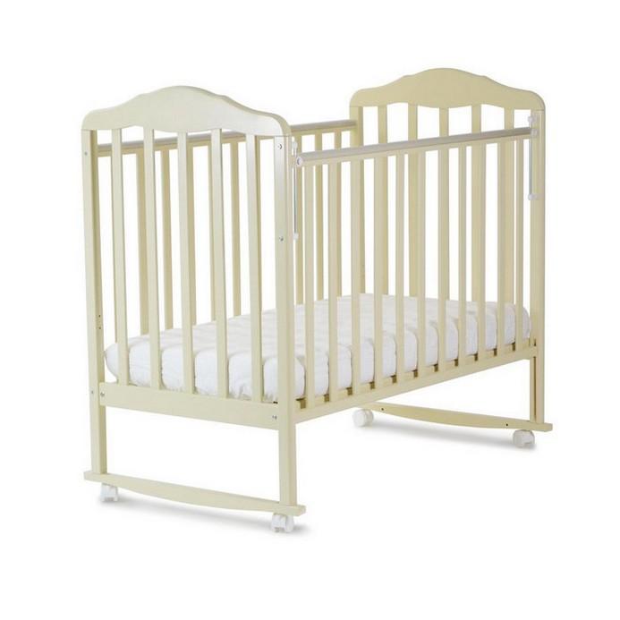 Кроватка СКВ Березка 120119 (бежевый)