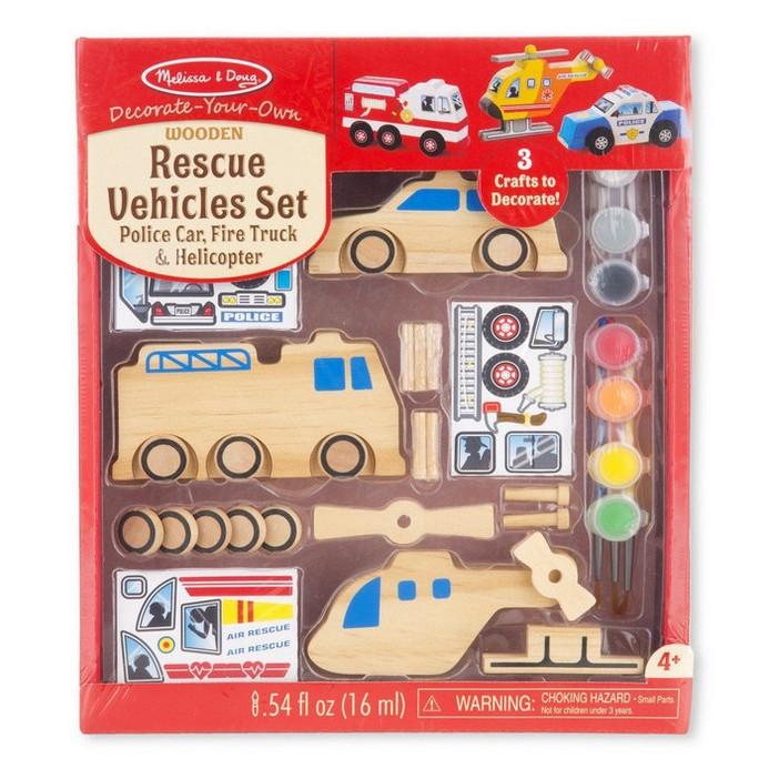 Игровой набор Melissa&Doug Автомобилей-спасатели