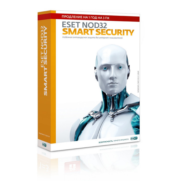 PC-игра Eset PCSB NOD32 Smart Security продл.1г.