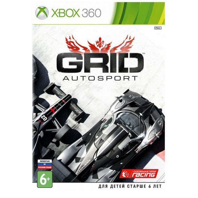 Игра для Xbox 360 Codemasters GRID Autosport (русская версия)