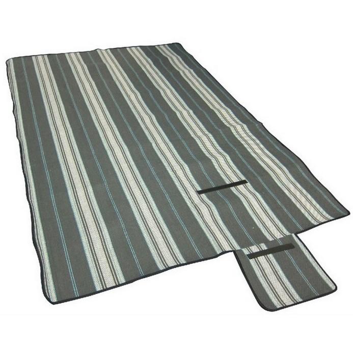 Туристический коврик Trek Planet picnic mat серый 70403