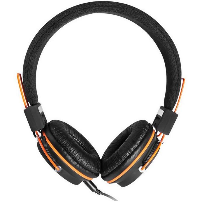Гарнитура Canyon CNE-CHP2 черный/оранжевый