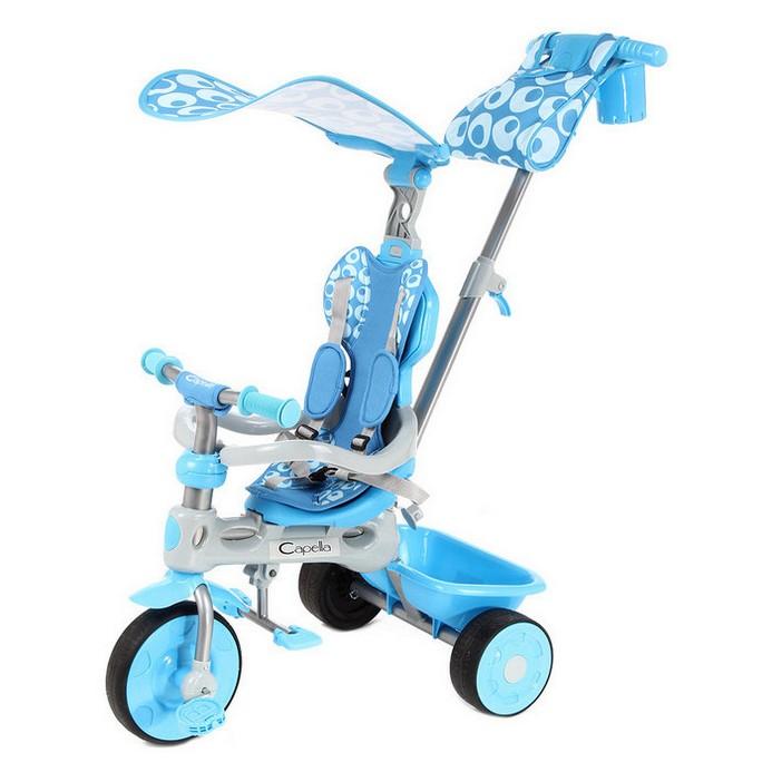 Трехколесный велосипед Capella S-903 син-св-серый