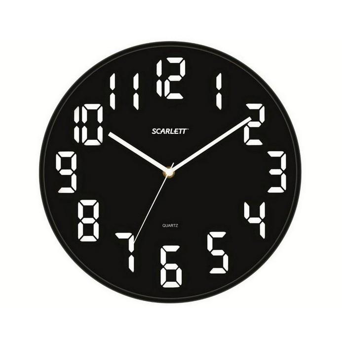 Часы Scarlett SC-55BL Black