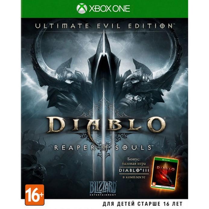 Игра для Xbox One Blizzard Diablo III: Reaper of Souls (Ultimate Evil Edition, русская версия)