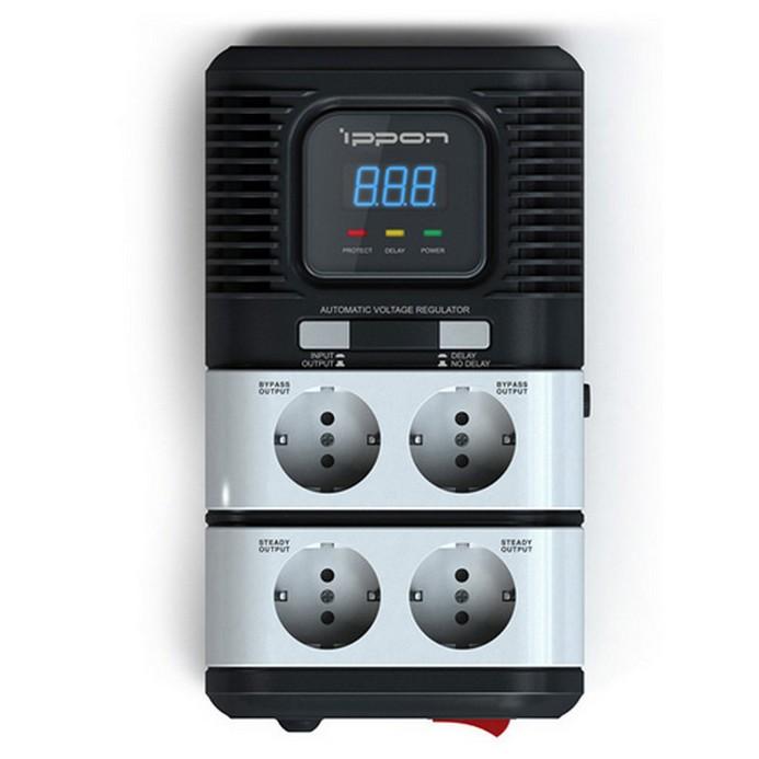 Стабилизатор Ippon STAB-2000 Black