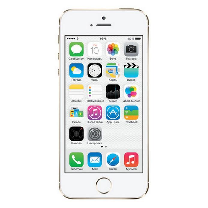Смартфон Apple IPhone 5S как новый 16Гб gold