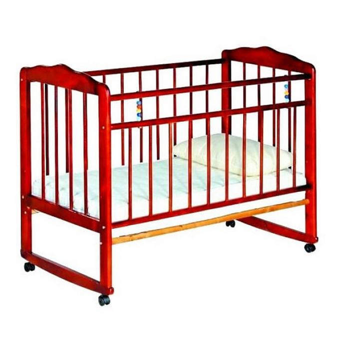 Кроватка Женечка 3 (вишня)