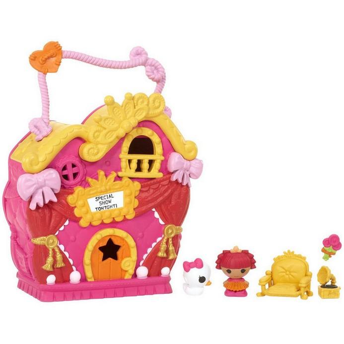Игровой набор Lalaloopsy Домик принцессы с малюткой (534310)