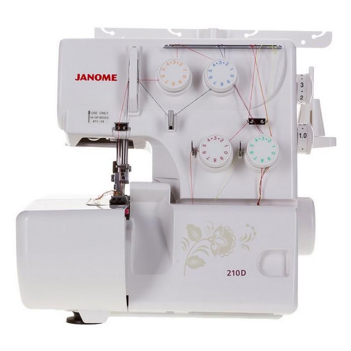 Оверлок Janome 210D