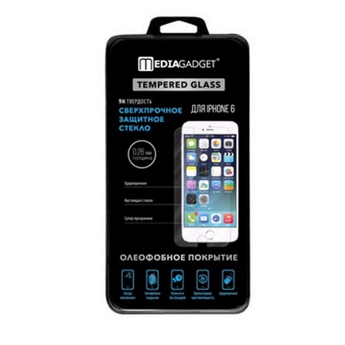 Защитное стекло MediaGadget для iPhone 6 TG026