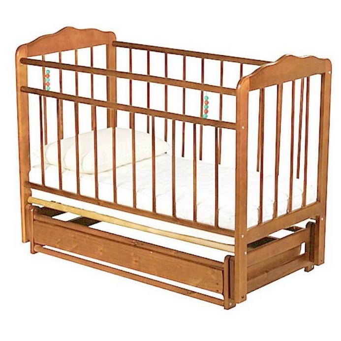 Кроватка Женечка 6 (орех)