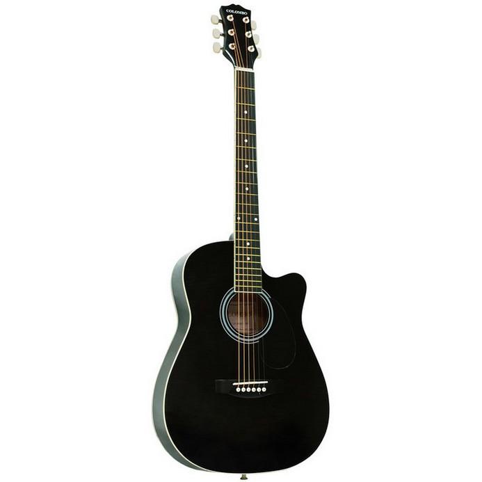 Гитара Colombo LF-3800CT фолк с вырезом