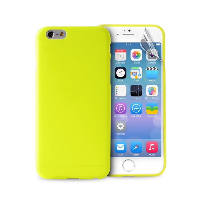Чехол Puro для iPhone 6 (IPC64703GRN) Green