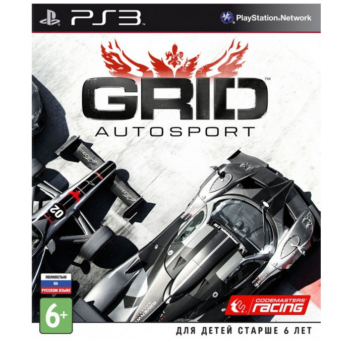 Игра для PS3 Codemasters GRID Autosport (русская версия)