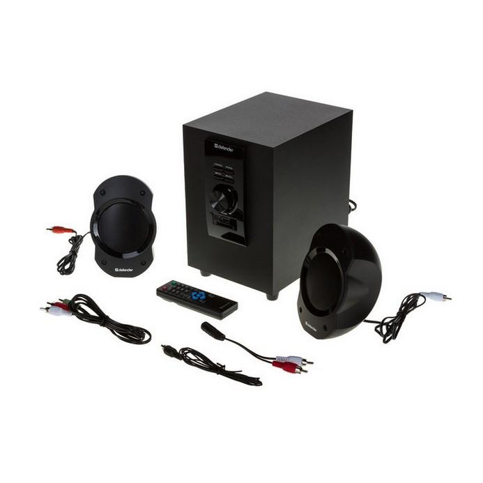 Колонки Defender 2.1 Sirocco S10 Pro