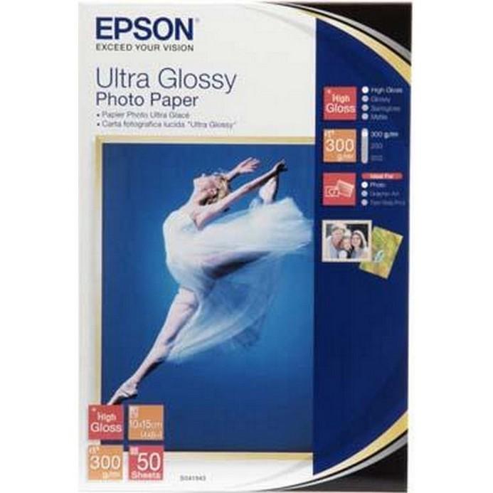 Бумага Epson S041943 10х15 см (50 листов)