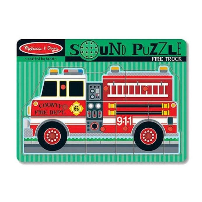 Пазл Melissa&Doug Пожарная машина