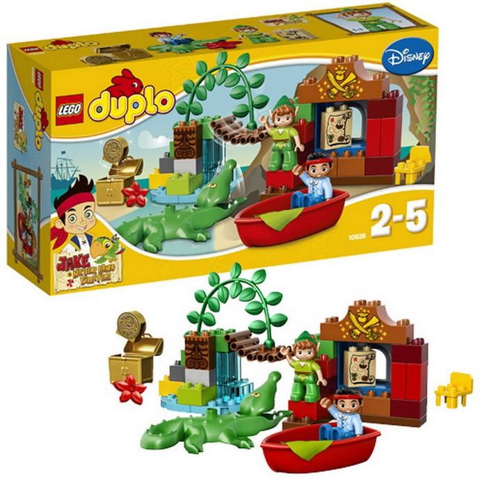 Конструктор LEGO Джейк Питер Пэн в гостях у Джейка (10526)