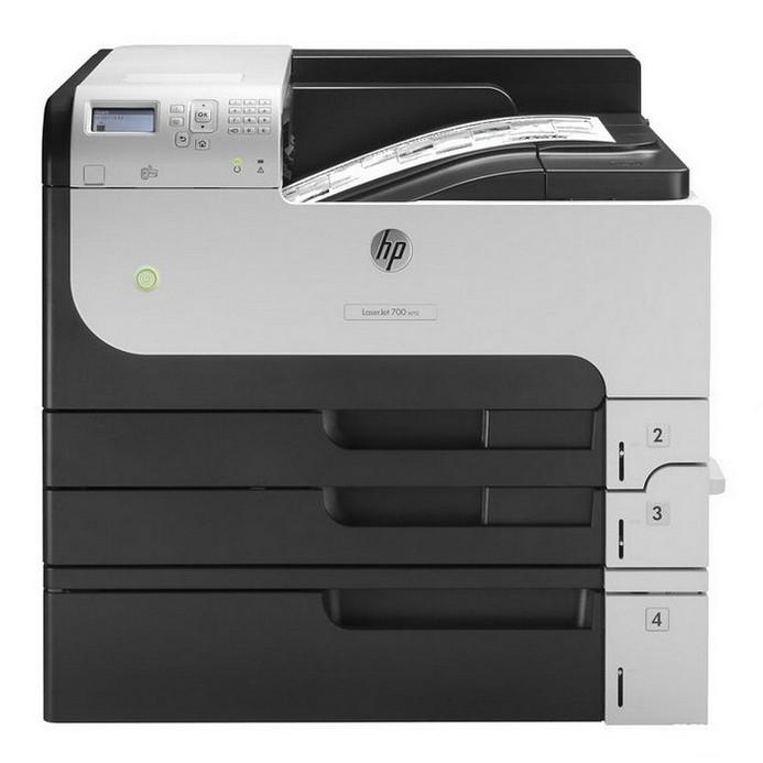 Лазерный принтер HP M712xh