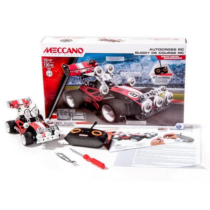 Конструктор Meccano Гоночная машина радиоуправляемая (91780)