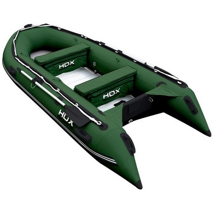 Лодка HDX Oxygen-390 AL Зеленый (29741)