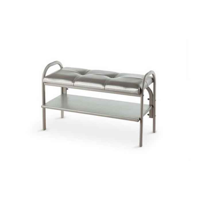 Банкетка Vental Практик-7 серебро