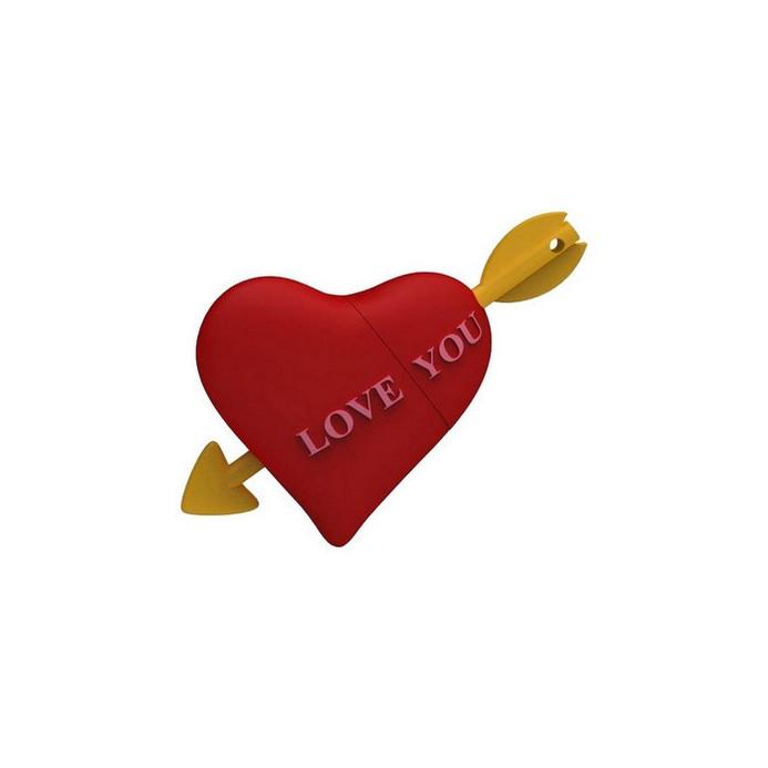 USB-флешка Iconik 8GB Сердце