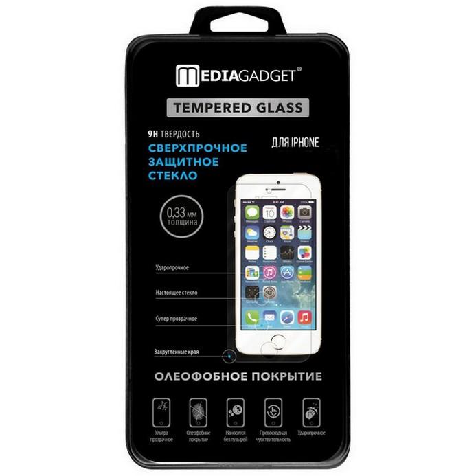 Защитное стекло MediaGadget для iPhone 6 TG023
